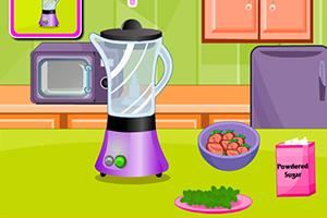 《奶油草莓薄荷蛋糕》游戏画面1