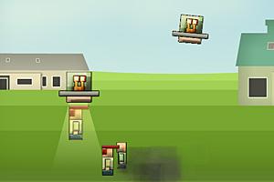 《UFO抓人类》游戏画面1
