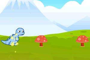 《奔跑的小恐龙》游戏画面1