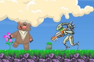 《机器侠的试炼无敌版》游戏画面1