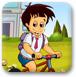 比赛骑车去学校