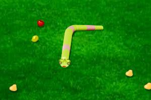《3D小蛇吃水果》游戏画面1