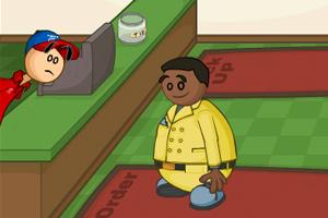 《老爹披萨店修改版》游戏画面1