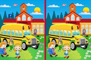 《校车小孩来找茬》游戏画面1