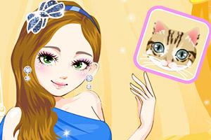 《时尚猫眼妆》游戏画面1