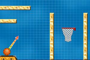 《篮球技巧射篮》游戏画面1