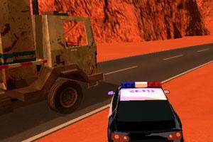 《沙漠警车追缉》游戏画面1
