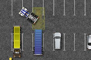 《大卡车司机停车4》游戏画面1