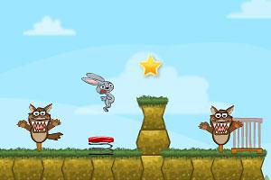 《饥饿的大灰狼》游戏画面1