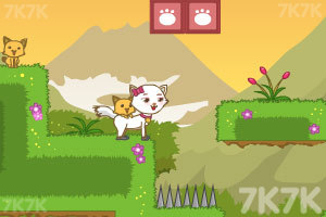 《猫猫侠侣救孩子2》游戏画面2