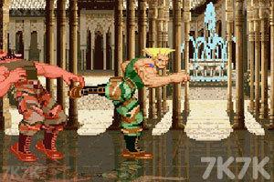 《街头霸王》游戏画面3