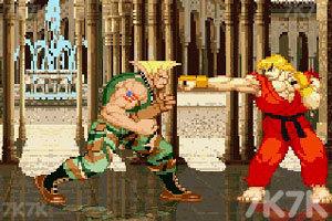 《街头霸王》游戏画面6