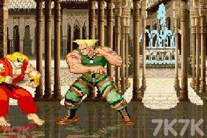 《街头霸王》游戏画面5