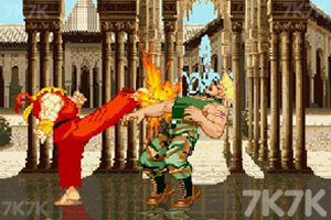 《街头霸王》游戏画面9