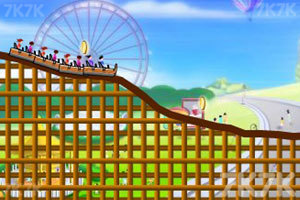 《疯狂过山车》游戏画面2