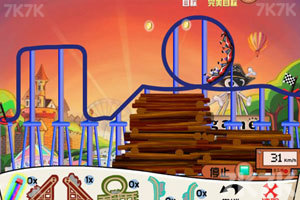《疯狂过山车》游戏画面9