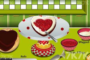 《爱心巧克力蛋糕》游戏画面8