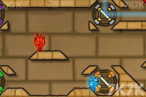 《森林冰火人2无敌版》游戏画面7
