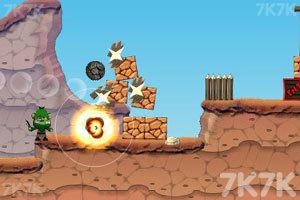 《大炮炸小人》游戏画面6