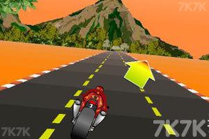 《急速摩托赛》游戏画面2