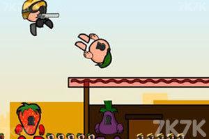 《疯狂小人战斗》游戏画面1