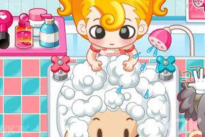 《小美洗发店》游戏画面4