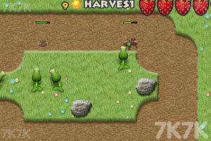 《植物大战害虫无敌版》游戏画面3
