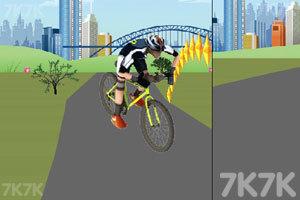 《双人自行车对战》截图1