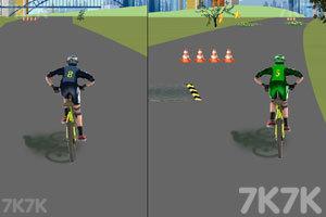 《双人自行车对战》截图5