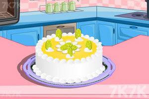 《制作柠檬蛋糕》游戏画面9