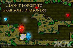 《森林冰火人》游戲畫面7