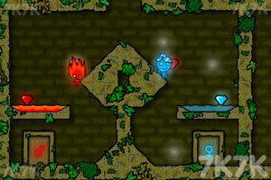 《森林冰火人无敌版》游戏画面6