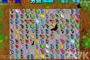 《蝴蝶连连看》游戏画面2