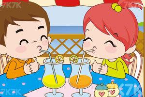 《小情侣喝果汁PK》截图10