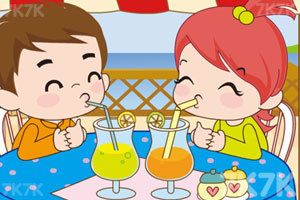 《小情侣喝果汁PK》截图3