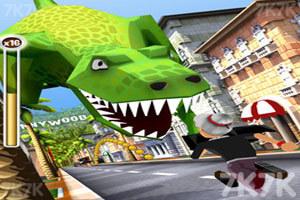 《愤怒奶奶玩跑酷2》游戏画面2
