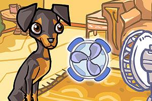 《调皮的狗狗》游戏画面1