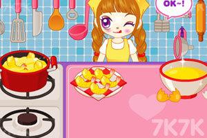 《阿sue做营养快餐》游戏画面2