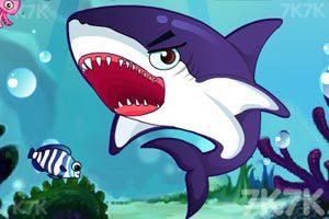 《饥饿的鲨鱼》游戏画面1