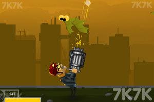 《光头杀菌2变态版》游戏画面2