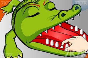《给小鳄鱼拔牙》截图7