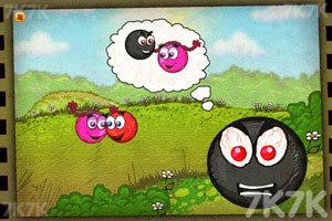 《小红球闯关3夺爱》游戏画面1