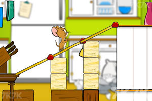 《杰瑞搭桥吃奶酪》截图1