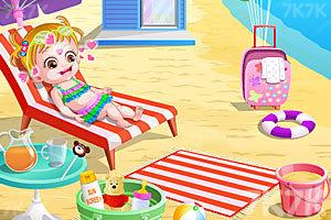 《可爱宝贝游沙滩》游戏画面8