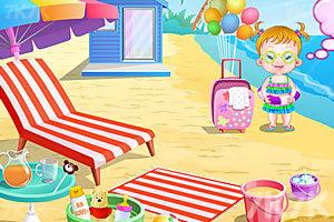 《可爱宝贝游沙滩》游戏画面9