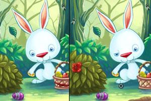 《小兔复活节找茬》游戏画面1