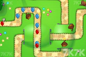 《小猴子守城5》游戏画面2