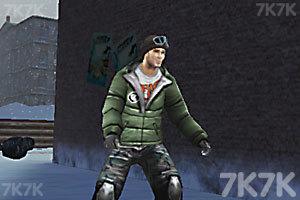 《3D街区滑板》截图3
