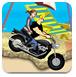 强尼海滩浪漫摩托
