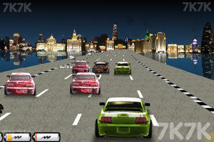 《街道赛车2》游戏画面1